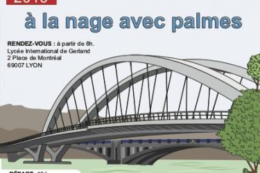 Venez nombreux : Traversée de Lyon à la nage le 20/01/2019