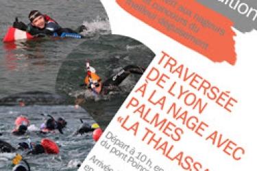40ème Traversée de Lyon à la nage le 19/01/2020